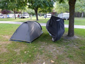 1ère étape camping de Bourg Saint Maurice